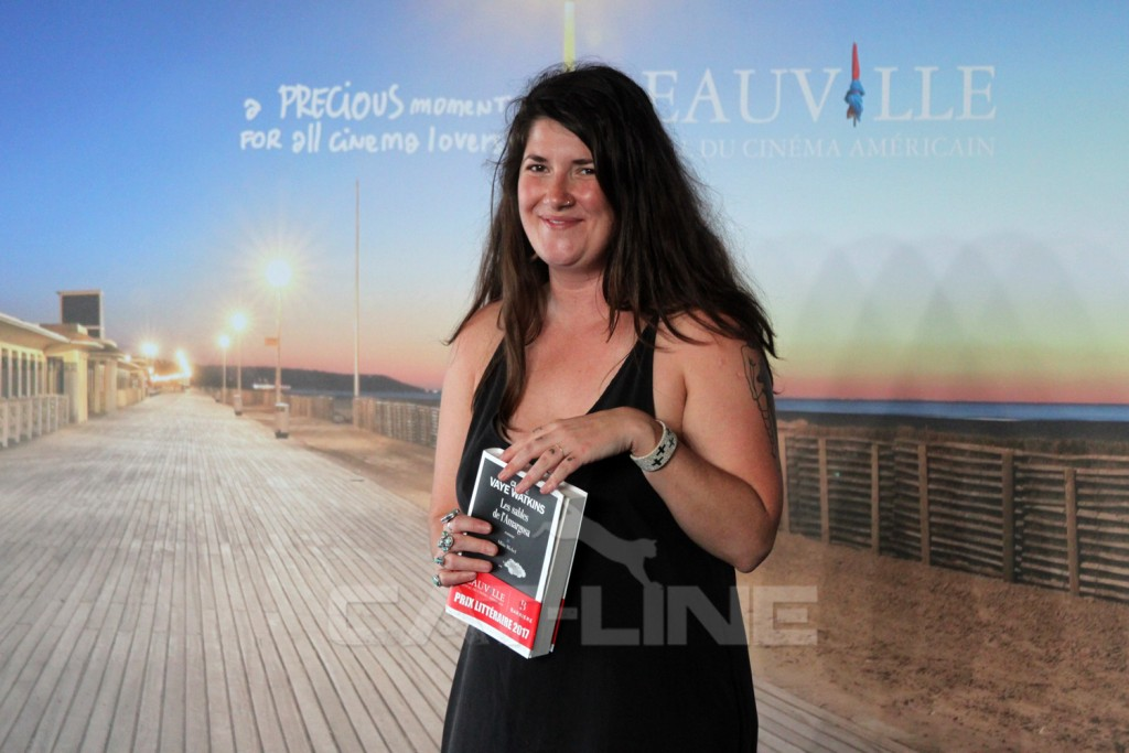 Claire Vaye Watkins au 43e Festival du cinéma Américain de Deauville 2017
