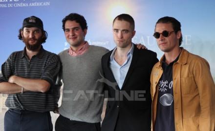 Robert Pattinson, Ben Safdie, Joshua Safdie, Oscar Boyson