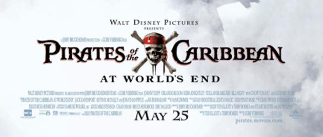 PIRATES DES CARAIBES – Jusqu'au bout du monde (2007)