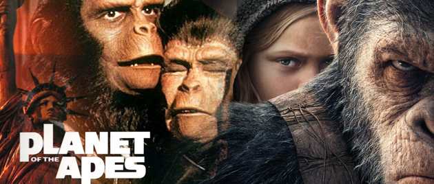 WATCH THE PLANETS OF THE APES IN ORDER