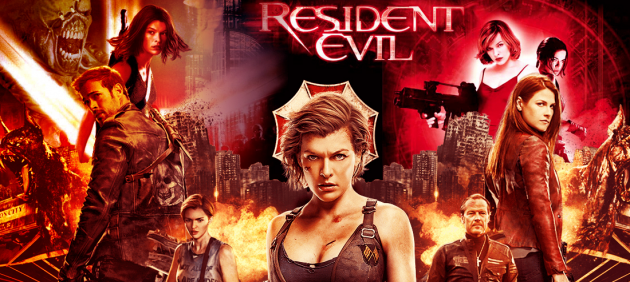 WATCH THE RESIDENT EVIL IN ORDER