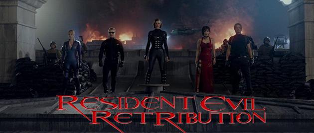 RESIDENT EVIL: Retribution (2012)