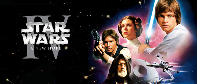 STAR WARS IV:  Una nueva esperanza (1977)