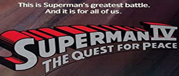 SUPERMAN IV : Le face à face (1987)
