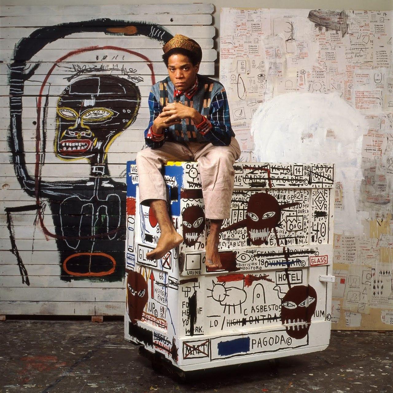 Jean Michel Basquiat by Lizzie Himmel