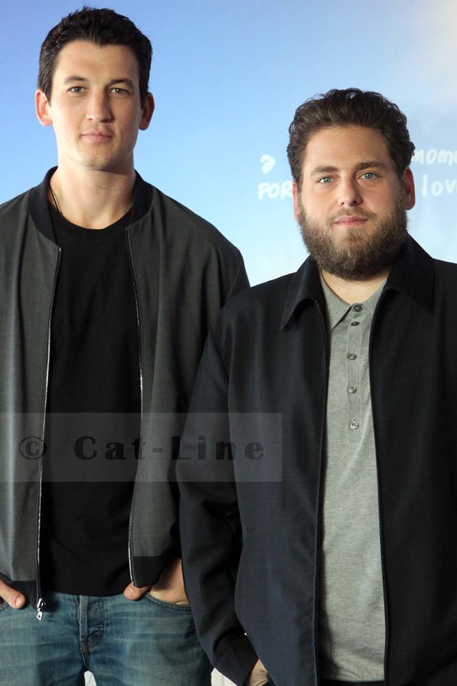 Miles Teller et Jonah Hill au Festival de Deauville du Cinéma Américain 2016