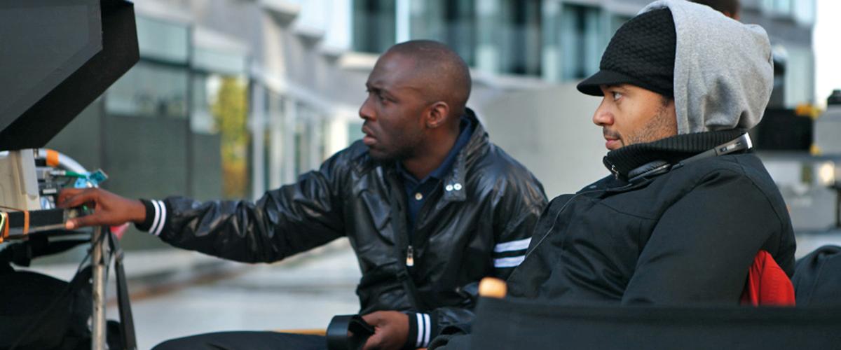 Thomas Ngijol et Fabrice Eboué tournage Case Départ